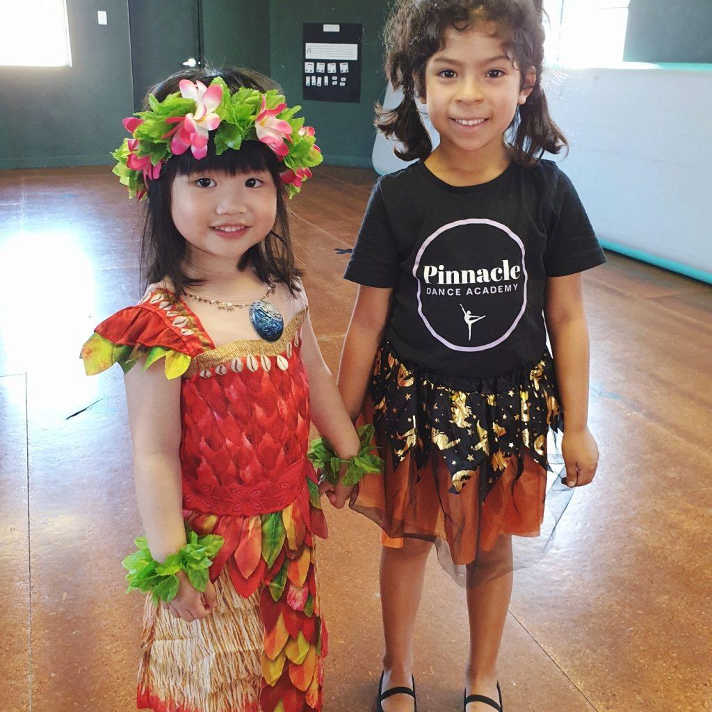 Alejandra and Kira Halloween